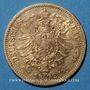 Münzen Prusse. Guillaume I (1861-1888). 10 mark 1872 A. (PTL 900‰. 3,98 g)
