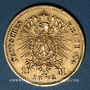 Münzen Prusse. Guillaume I (1861-1888). 10 mark 1872 B. (PTL 900‰. 3,98 g)