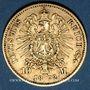 Münzen Prusse. Guillaume I (1861-1888). 10 mark 1872 C. (PTL 900‰. 3,98 g)