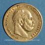 Münzen Prusse. Guillaume I (1861-1888). 10 mark 1874 A. (PTL 900‰. 3,98 g)