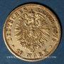 Münzen Prusse. Guillaume I (1861-1888). 10 mark 1875 A. (PTL 900‰. 3,98 g)