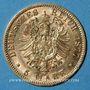 Münzen Prusse. Guillaume I (1861-1888). 5 mark 1877 C. (PTL 900‰. 1,9910 g)