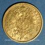 Münzen Prusse. Guillaume I (1861-1988). 10 mark 1873 A. (PTL 900‰. 3,98 g)