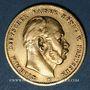 Münzen Prusse. Guillaume I (1861-1988). 10 mark 1873 B. (PTL 900‰. 3,98 g)