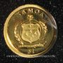 Münzen Samoa. Monarchie parlementaire. 1 dollar 2009. (PTL 999,9‰. 0,5 g)