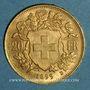 Münzen Suisse. Confédération. 20 francs Vreneli 1899 B. (PTL 900‰. 6,45 g)