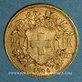 Münzen Suisse. Confédération. 20 francs Vreneli 1900 B. (PTL 900‰. 6,45 g)