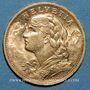 Münzen Suisse. Confédération. 20 francs Vreneli 1900B. (PTL 900‰. 6,45 g)