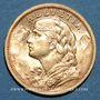 Münzen Suisse. Confédération. 20 francs Vreneli 1904 B. (PTL 900‰. 6,45 g)