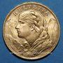 Münzen Suisse. Confédération. 20 francs Vreneli 1926 B. (PTL 900‰. 6,45 g).  50.000 ex !
