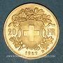 Münzen Suisse. Confédération. 20 francs Vreneli 1927 B. (PTL 900‰. 6,45 g)