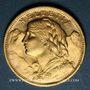 Münzen Suisse. Confédération. 20 francs Vreneli 1930 B. (PTL 900‰. 6,45 g)