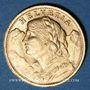 Münzen Suisse. Confédération. 20 francs Vreneli 1935 B. (PTL 900‰. 6,45 g)