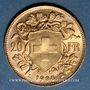 Münzen Suisse. Confédération. 20 francs Vreneli 1935 LB. (PTL 900‰. 6,45 g)