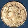 Münzen Suisse. Confédération. 20 francs Vreneli 1947 B. (PTL 900‰. 6,45 g)