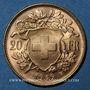 Münzen Suisse. Confédération. 20 francs Vreneli 1949 B. (PTL 900‰. 6,45 g)
