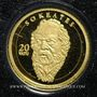 Münzen Vanuatu. République. 20 vatu  2008 (PTL 999‰. 0,5 g)