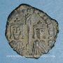 Münzen Empire byzantin. Basile I (867-886). Follis. Constantinople, 868-870