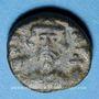 Münzen Empire byzantin. Constant II (641-668). 1/2 follis. Carthage, 4e émission, 648-658