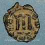Münzen Empire byzantin. Constant II (641-668). Follis. Constantinople, 644-645