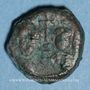 Münzen Empire byzantin. Héraclius (610-641) et Héraclius Constantin. Dodécanoummion. Alexandrie, 625-629