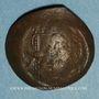 Münzen Empire byzantin. Isaac II (1185-1195). Trachy de billon