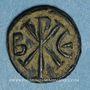 Münzen Empire byzantin. Justin I (518-527). Pentanoummion. Constantinople. 2e officine, 522-527