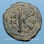 Münzen Empire byzantin. Justinien I (527-565). 1/2 follis. Nicomédie, 546-547