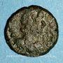 Münzen Empire byzantin. Justinien I (527-565). 1/2 follis. Salona (?), Dalmatie. 2e moitié du 6e siècle