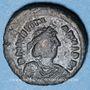 Münzen Empire byzantin. Justinien I (527-565). Décanoummion. Atelier incertain : Perugia  552-553