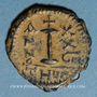 Münzen Empire byzantin. Justinien I (527-565). Décanoummion. Théoupolis (Antioche), 555-556