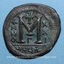 Münzen Empire byzantin. Justinien I (527-565). Follis. Théoupolis (Antioche). 3e officine, 547-548