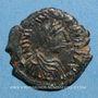 Münzen Empire byzantin. Justinien I (527-565). Pentanoummion. Théoupolis (Antioche), 1ère officine, 551-556