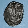 Münzen Empire byzantin. Léon IV (775-780). Follis. Constantinople, 776-778