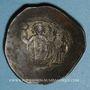 Münzen Empire byzantin. Manuel I Commène (1143-1180). Trachy de billon. Constantinople