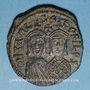 Münzen Empire byzantin. Michel II d'Amorium (820-829). Follis. Constantinople, 821-829