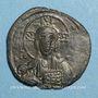 Münzen Empire byzantin. Monnayage anonyme attribué à Basile II et Constantin VIII. Follis, classe A2