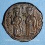 Münzen Empire byzantin. Phocas (602-610). Follis. Théoupolis, 605-606