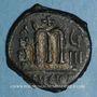 Münzen Empire byzantin. Phocas (602-610). Follis. Théoupolis. 609-610