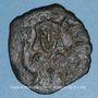 Münzen Empire byzantin. Théophile (829-842). Follis. Atelier provincial, 830/831-842