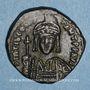 Münzen Empire byzantin. Tibère II Constantin (578-582). 1/2 follis. Constantinople. 3e officine, 579-582