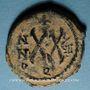 Münzen Empire byzantin. Tibère II Constantin (578-582). 1/2 follis. Théoupolis (Antioche), 580-581