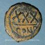Münzen Empire byzantin. Tibère II Constantin (578-582). 3/4 follis (= 30 noummia). Constantinople, 579-582