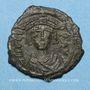 Münzen Empire byzantin. Tibère II Constantin (578-582). Décanoummion. Constantinople, 579-582