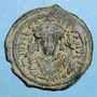 Münzen Empire byzantin. Tibère II Constantin (578-582). Follis. Constantinople. 1ère officine, 580-581