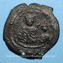 Münzen Héraclius (610-641) et Héraclius Constantin. Follis. Séleucie d'Isaurie, 2e officine 616-617