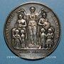 Münzen Médaille de l'Enseignement du 1er degré. Argent