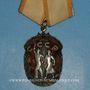 Münzen Russie. Ordre de l'insigne honneur - Orden Szlavi. Argent et émaux rouges