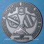 Münzen Alsace 40e anniversaire du Groupement régional philatélique d'Alsace & Belfort 1987 médaille uniface