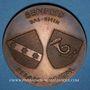 Münzen Alsace. Benfeld. Semaine des P.T.T. du Bas-Rhin. Médaille bronze. 50,13 mm